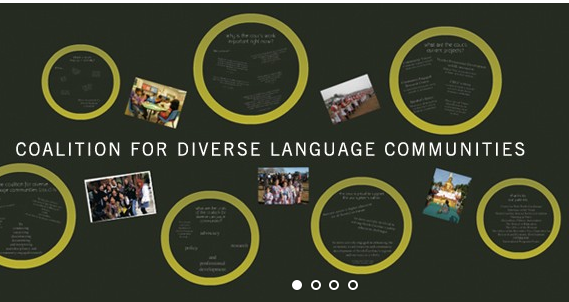 Coalition for Diverse Language Communities Logo
