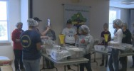 80 students pack 14,000 meals for Stop Hunger Now
