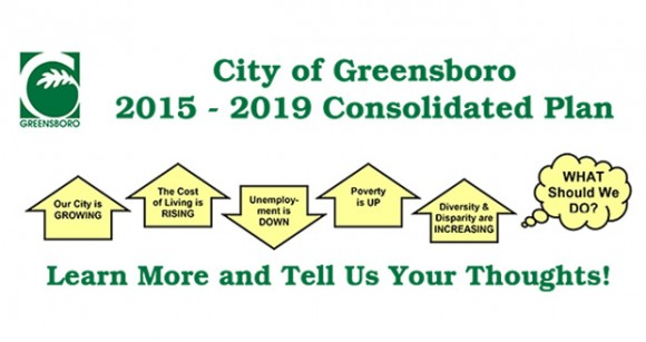 Attend the City of Greensboro's Consolidated Plan Public Meeting