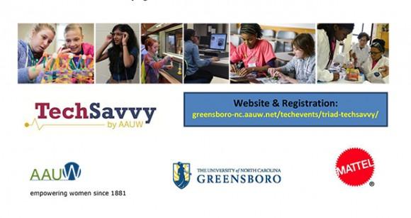 Tech Savvy STEM Event Flyer
