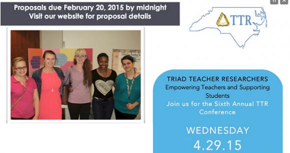 Triad Teacher Researcher Conference