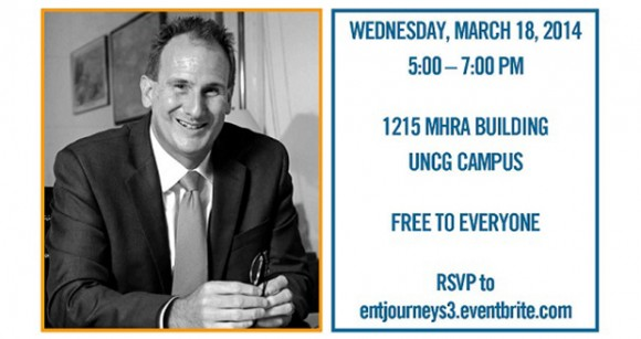 Monty Hagler,Founder, President and CEO of RLF Communications, will speak at UNCG on Wednesday, March 18 @ 5pm in MHRA 1215.