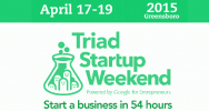 The next Triad Startup Weekend will be held Friday, April 17th - Sunday, April 19th, 2015 at the Co//ab in downtown Greensboro (229 N. Greene Street, Greensboro, NC 27401).