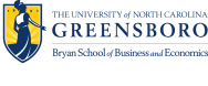 Logo for UNCG's Bryan School of Business and Economics