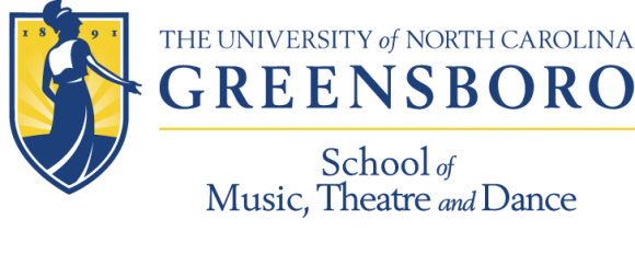 Logo for UNCG's School of Music, Theatre, and Dance