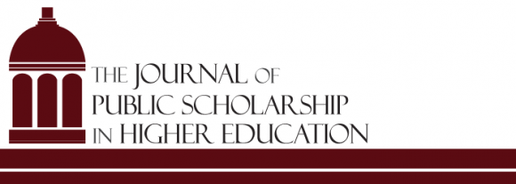 logo for Journal of Public Scholarship in Higher Education