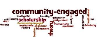 community engaged scholarship wordle